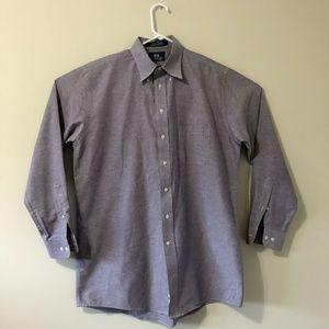 Stafford Shirt X-Tall 16 1/2 35/36 Purple